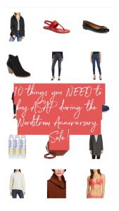 10 things you need to buy at the 2019 Nordstrom Anniversary Sale